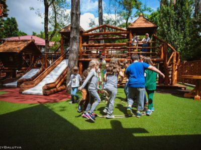 Ресторан «Княжа Втиха» - Детская площадка