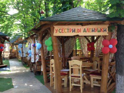 Ресторан «Княжа втиха» - Летняя площадка