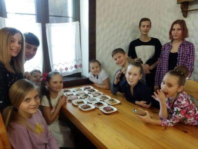 Фото с детских мастер-классов - Ресторан «Княжа Втиха»